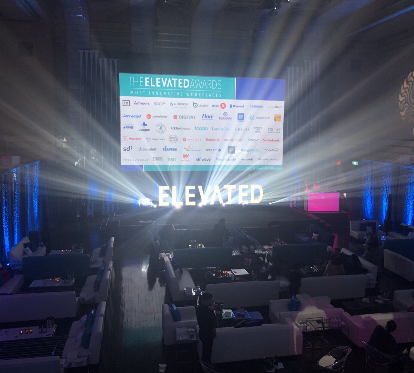 The Elevated Awards gala